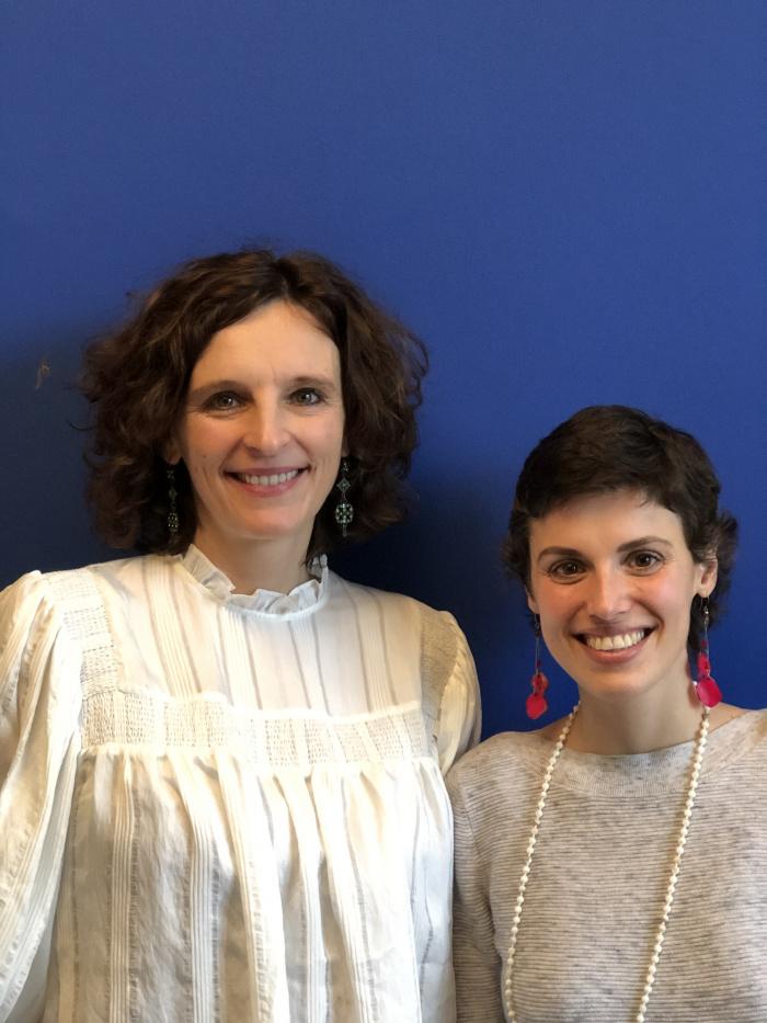 Kasia Mol-Wolf und Tatiana Hafez
