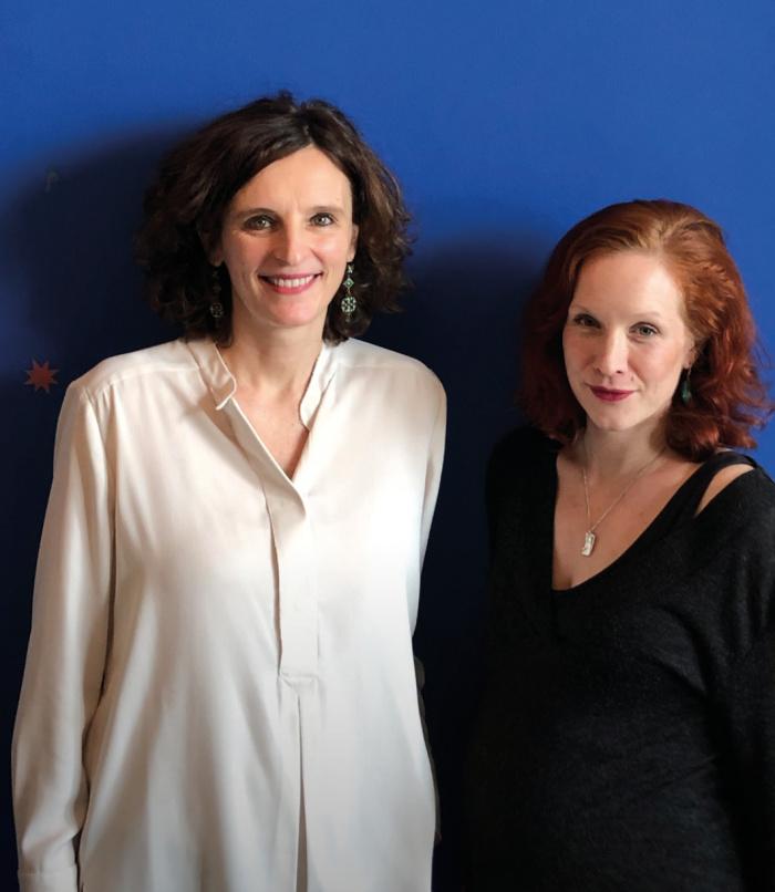 Kasia Mol-Wolf und Teresa Bücker