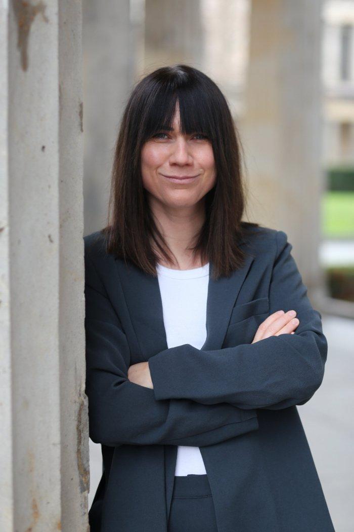 "Louisa Dellert im Podcast ""Kasia trifft ..."""