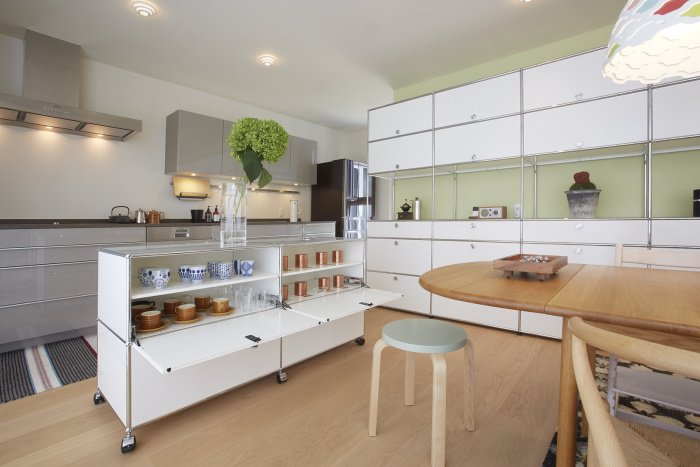 Modulare Küche – USM Haller