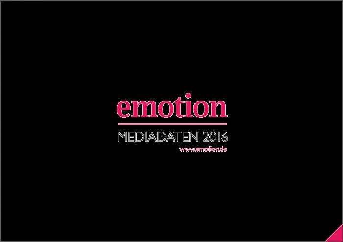 Mediadaten EMOTION