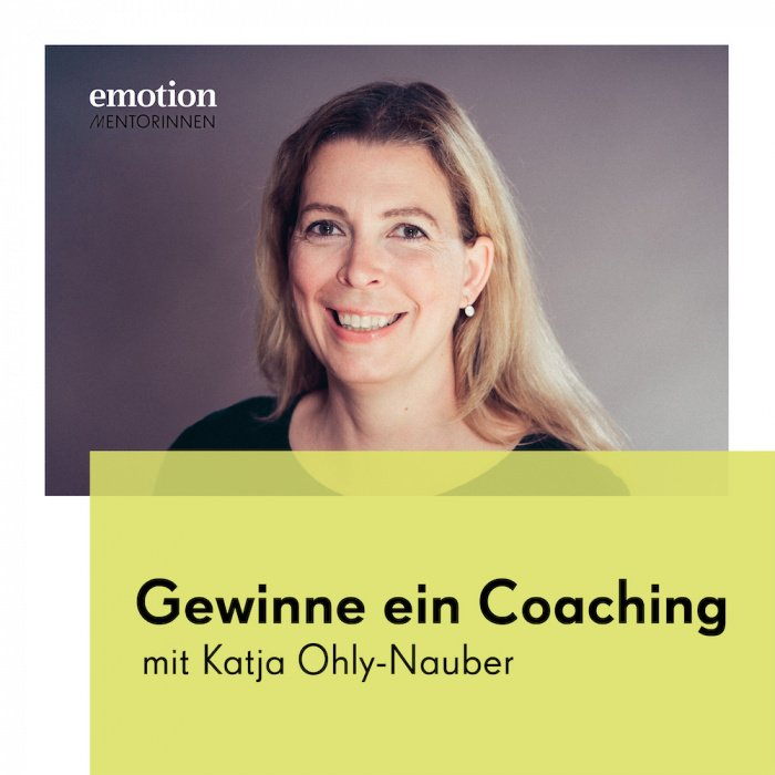 Mentorin Katja Ohly-Nauber