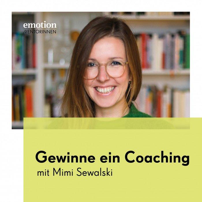 Mentorin Mimi Sewalski