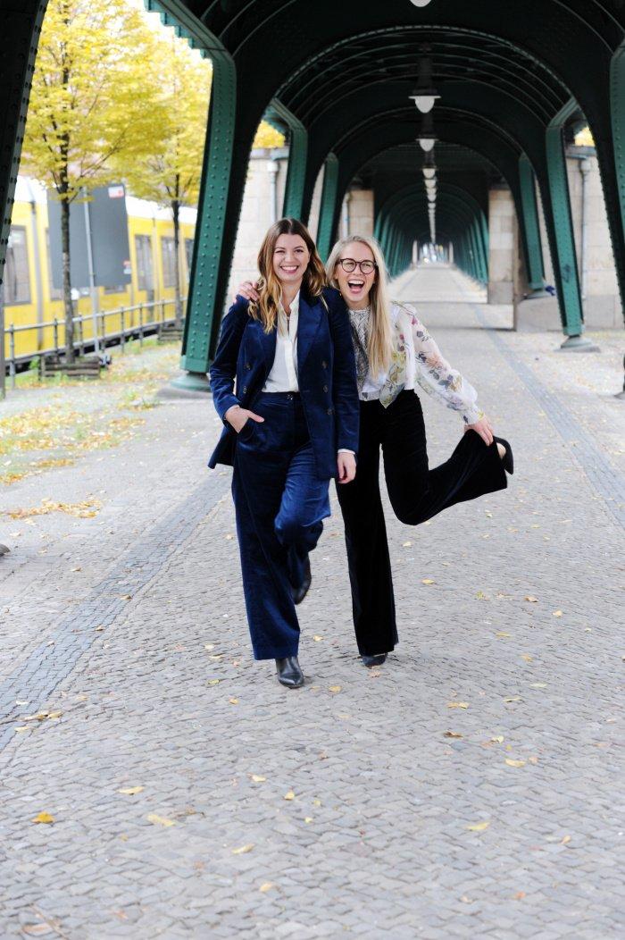 Nora-Vanessa Wohlert und Susann Hoffmann