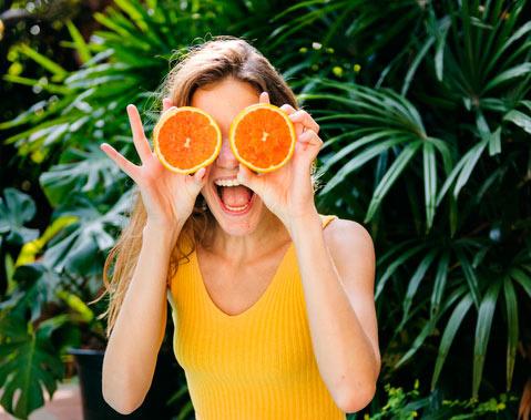 Düfte beeinflussen Stimmung: Orange macht Laune