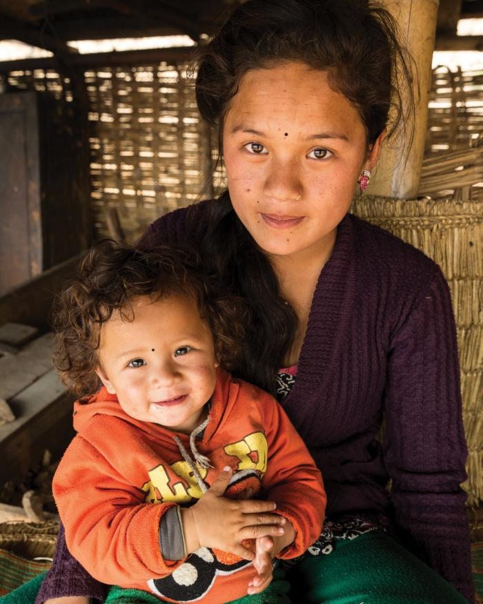 Maya aus Nepal
