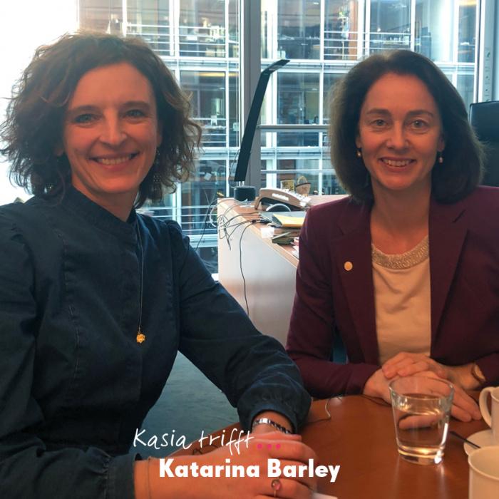 Katarina Barley Podcast