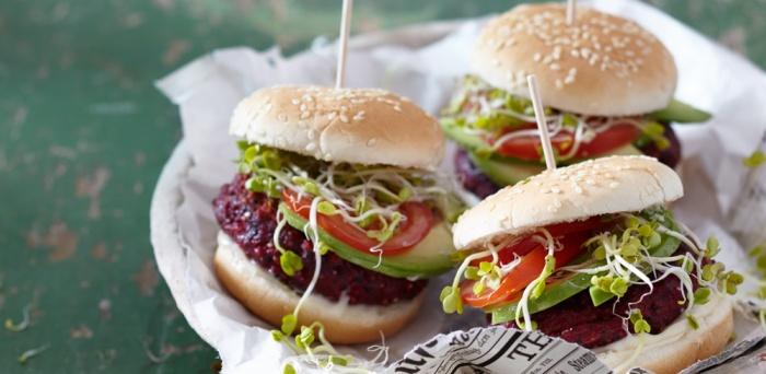 Quinoa-Burger