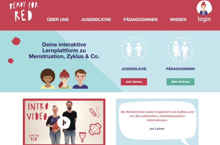 Ready for Red: Alles über Menstruation für Jugendliche