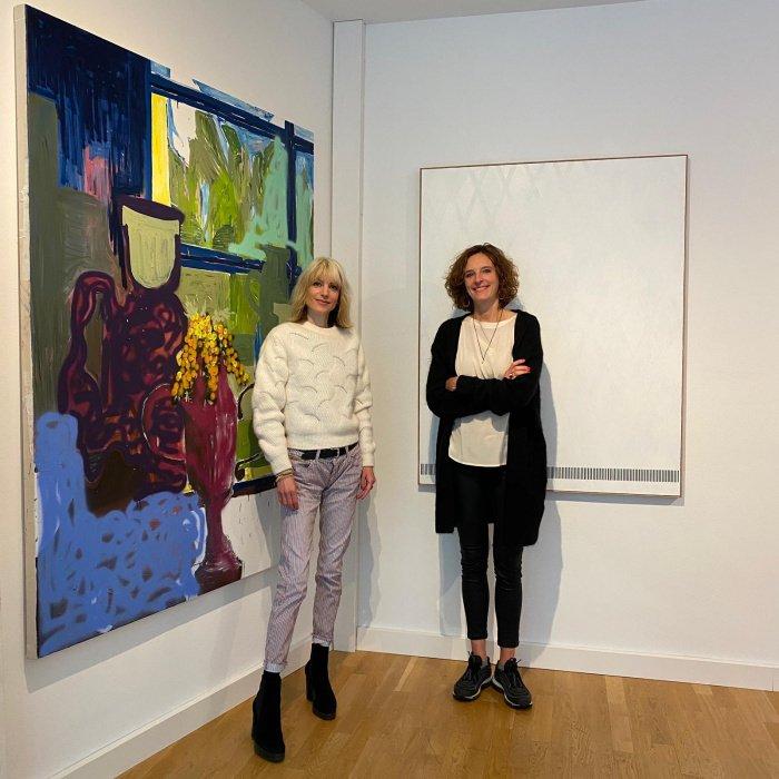 Rebekka Reinhard und Kasia Mol-Wolf