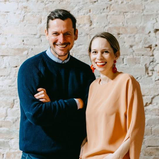 David Noël und Isabelle Sonnenfeld