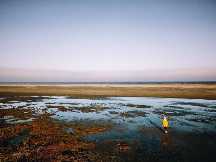 Schiermonnikoog: niederländisches Wattenmeer