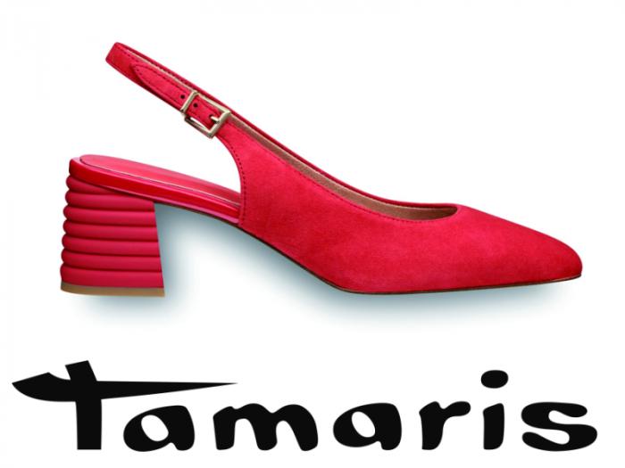 Roter Slingpump Tamaris