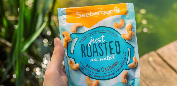 Seeberger Roasted Range Cashew Nüsse