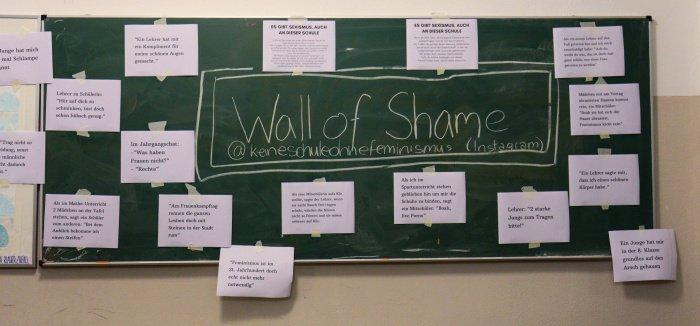 Sexismus Situationen an einer Berliner Schule