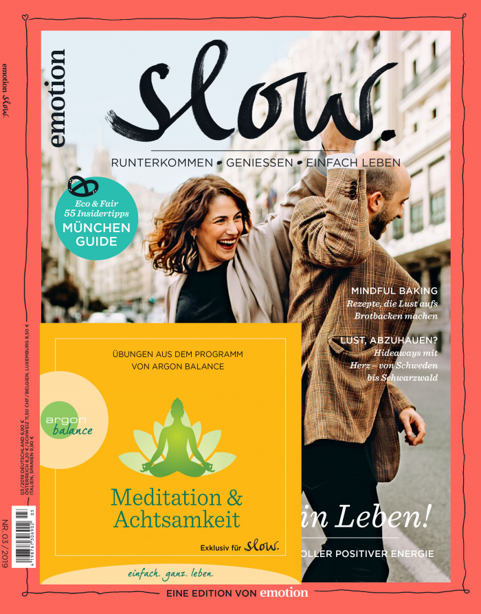 Slow Cover mit Meditations-CD