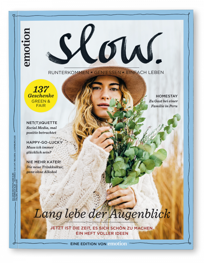 EMOTION SLOW Magazin November 2019