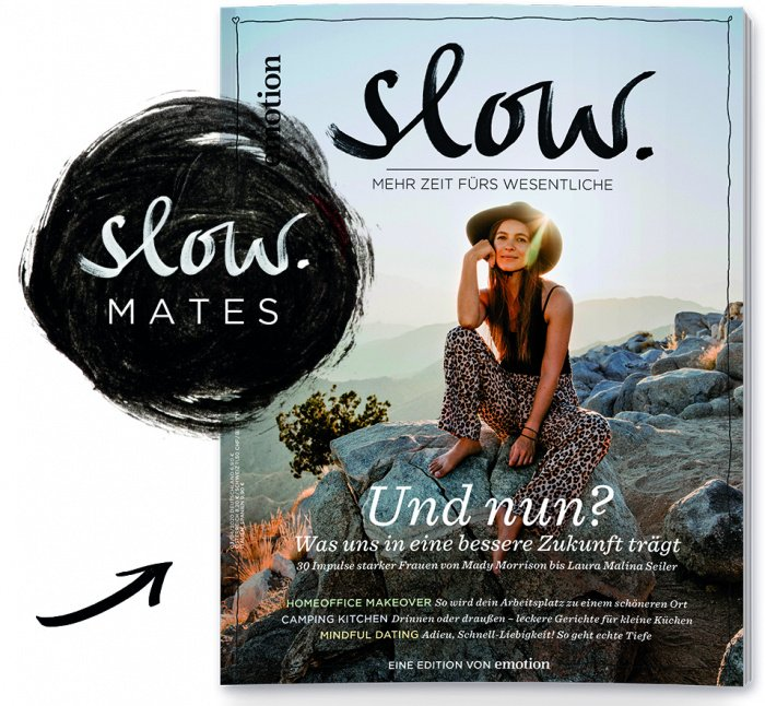 Emotion Slow Oktober Ausgabe