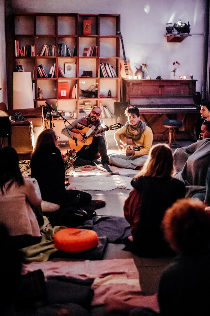 Mantra Session Hamburg Singen