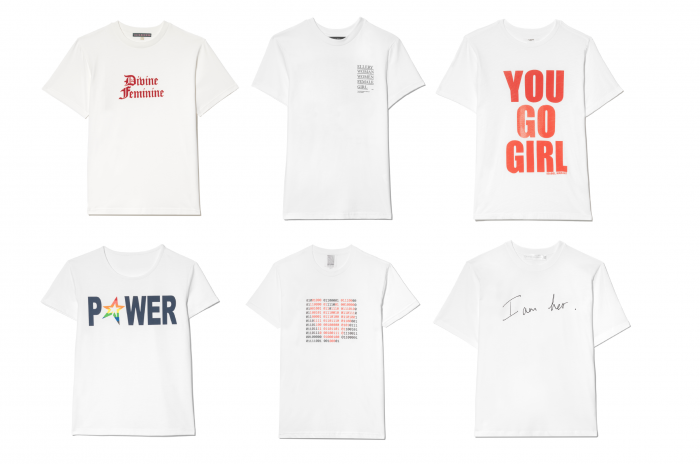 WeltfrauenTag: T-Shirts von Net-A-Porter und Women for Women