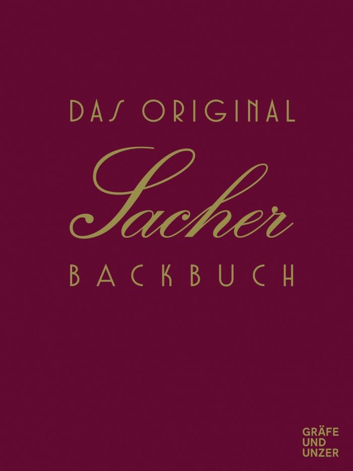 Sacher Backbuch Cover