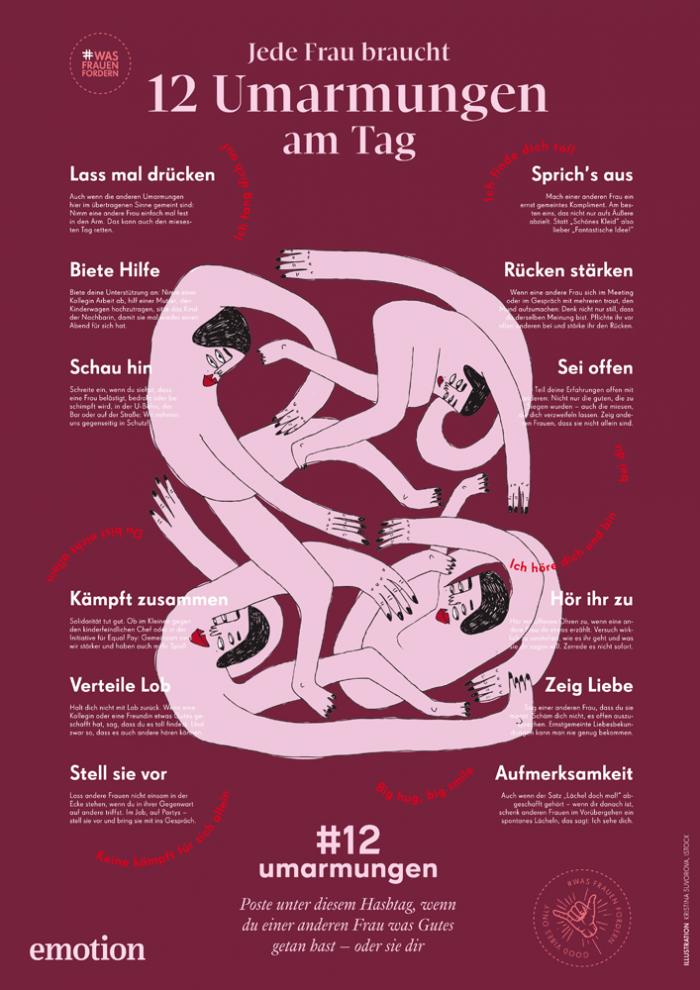 wasfrauenfordern: #12 Umarmungen