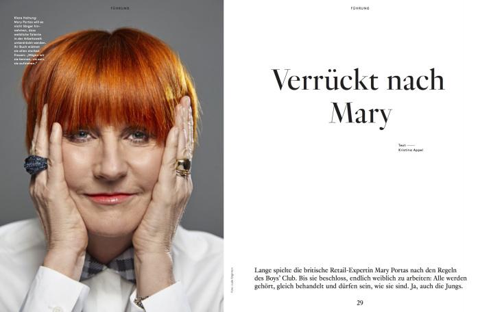 Mary Portas in Working Women