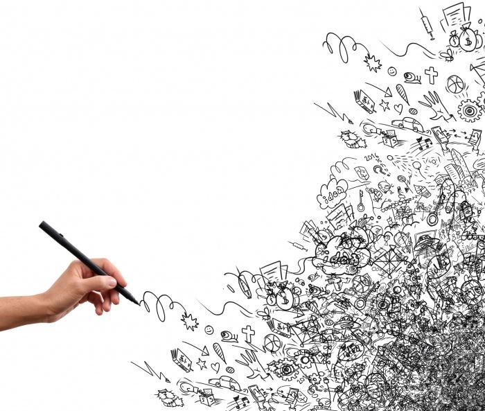 Zeichnung Kreativitäts-Test