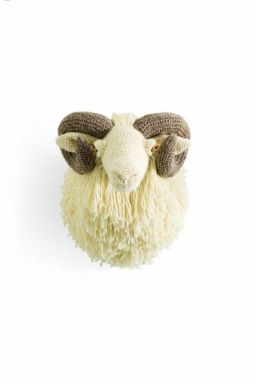 Tierische Trophäen Schaf