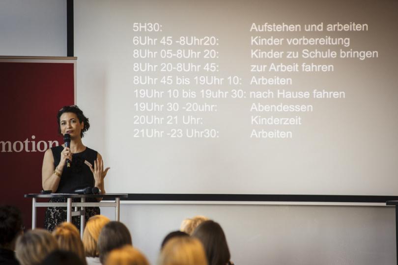 Myriam Bekkar-Schneider Tagesablauf