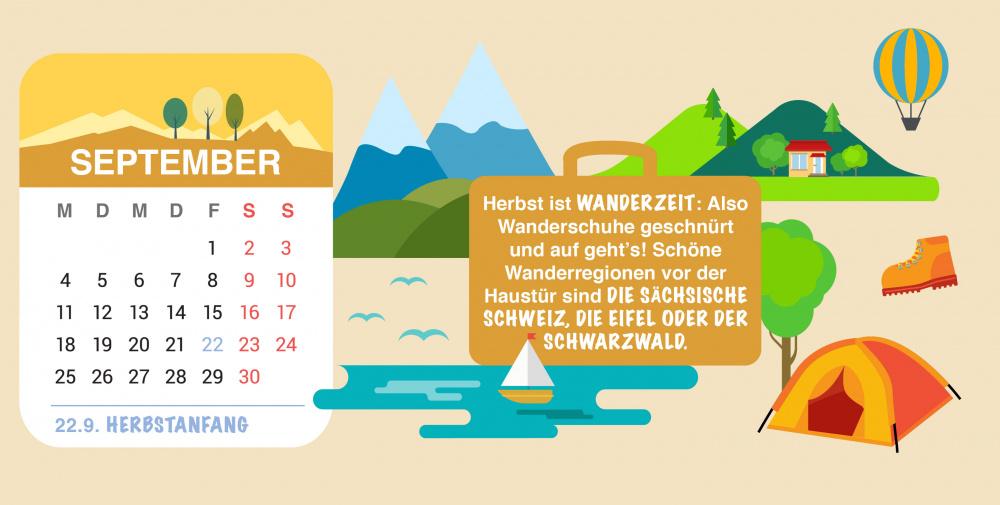 Brückentage 2017: September
