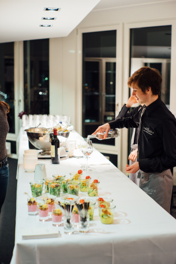Chanel Workshop Catering