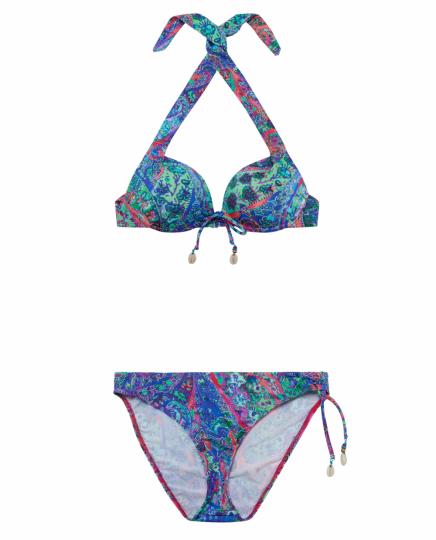 Bikini mit orientalischem Muster