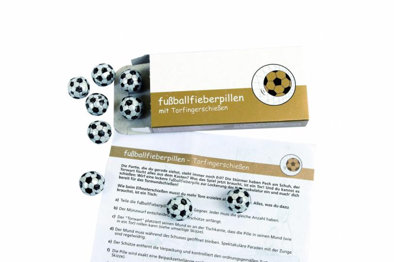 Fußballfieberpillen