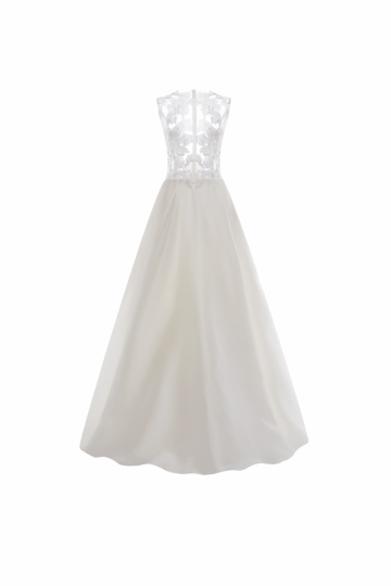 Brautkleid lang Seide
