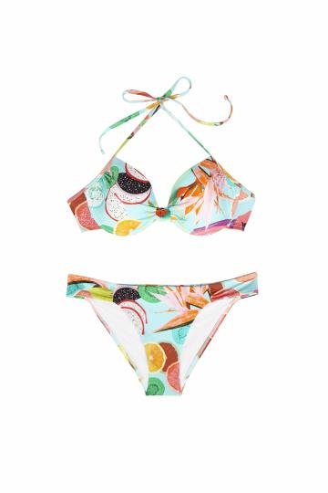 Bikini mit tropischen Früchten