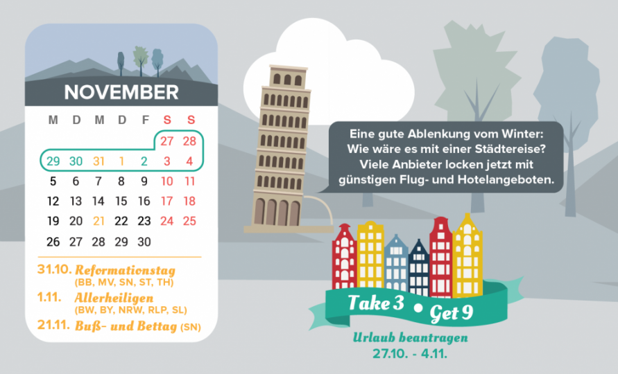Brückentage November