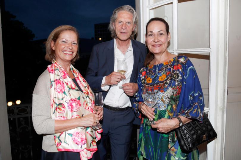 Angela Oelckers, Andreas Möller und Tania Miglietti