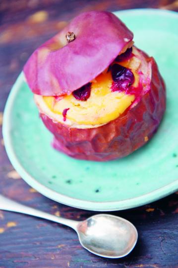 Cranberry Bratäpfel