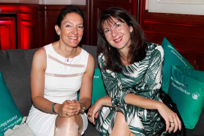 Dr. Natascha Rodrigues und Alexandra Oberbeck
