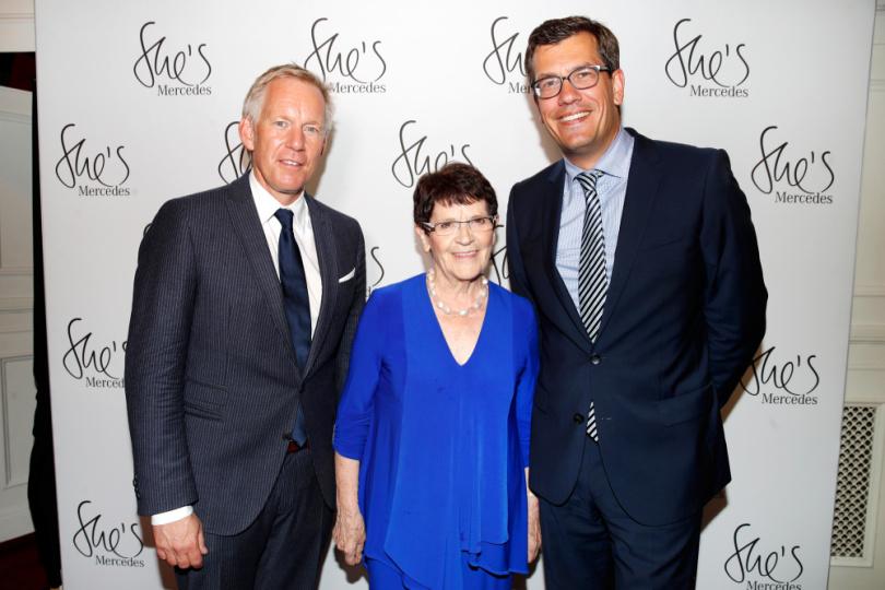 Johannes B. Kerner und Rita Süssmuth