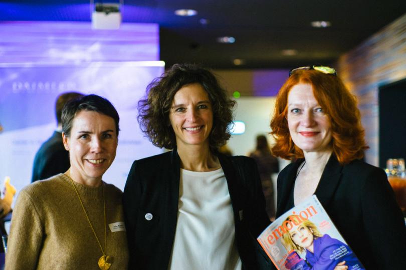 rework 2017: Anke Rippert, Katarzyna Mol-Wolf und Karen Bro