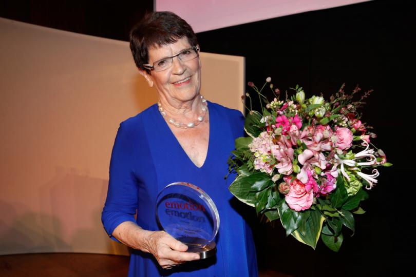 Rita Süssmuth mit dem EMOTION.award 2017