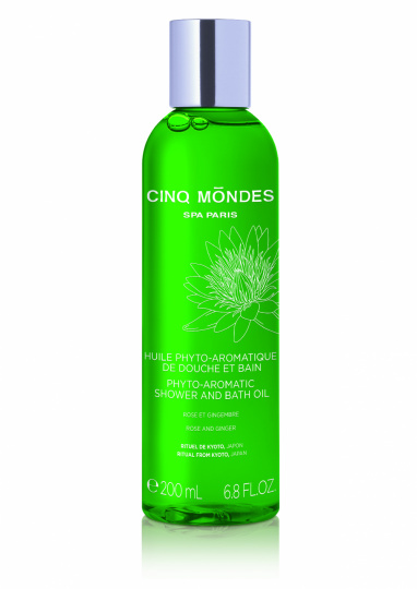 """Phyto-Aromatic Shower and Bath Oil"""" von Cinq Mondes"""