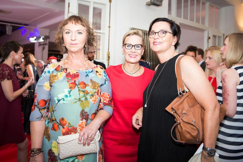 Cornelia Baumgartner, Gudrun Hams-Weinecke und Karin Löbbers