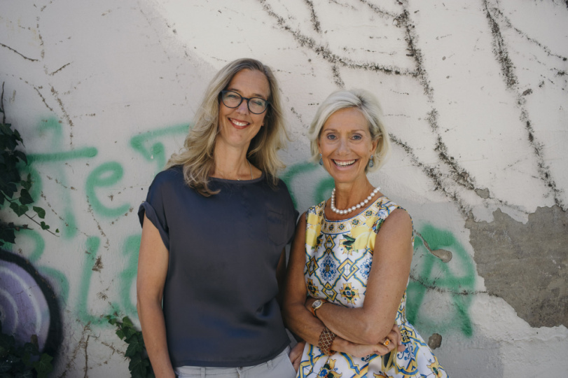 Franziska von Lewinski und Kristina Tröger
