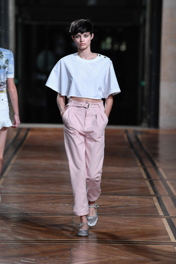 Top Hose Pastell Sommerlook