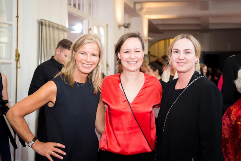 Wencke von der Heydt, Katharina Amann und Jana Kruse