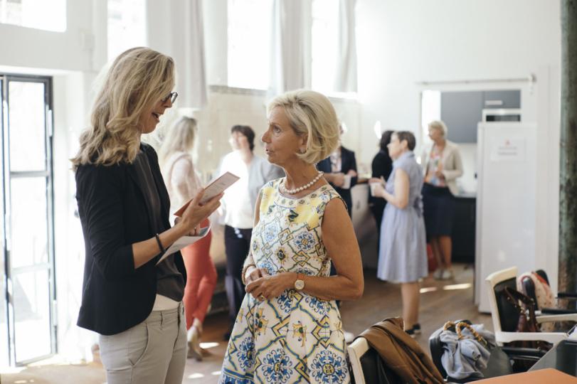 Kristina Tröger bei der Jurysitzung des Awards