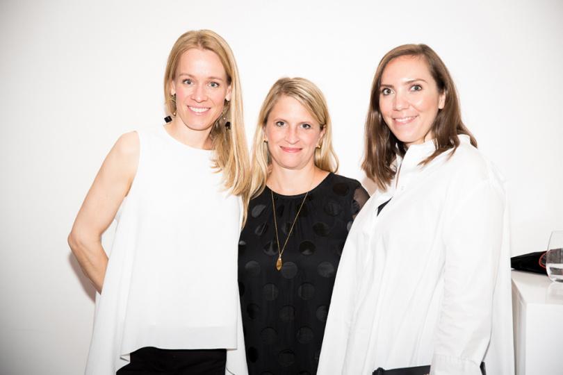 Kristine Logemann, Dr. Simone Kerner und Lara Krude